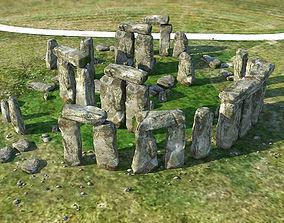 3D asset Stonehenge
