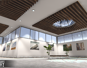 Showroom Environment - gallery 3D model