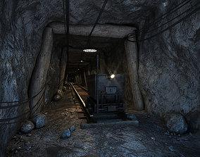 3D Mine Scene