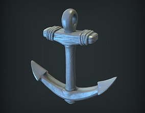 jewelry 3D printable model Anchor