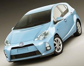 Toyota Prius C Aqua Hybrid 3D model