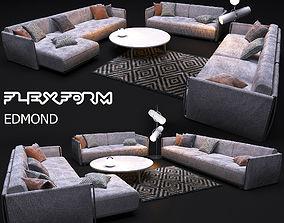 3D model sofa FLEXFORM EDMOND