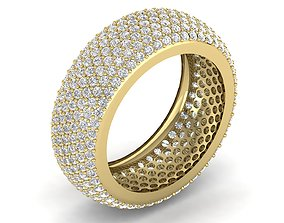 Eternity ring band 3D print model