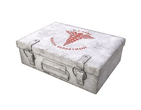 3D asset animated First Aid Kit