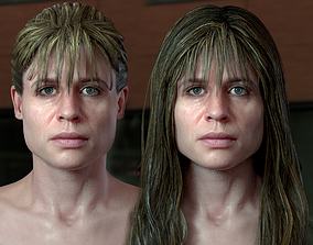 game-ready 3d model Sarah Connor Linda Hamilton