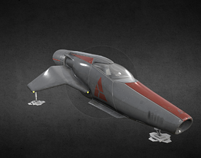 Space-X Starfighter 3D