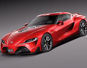 Toyota FT-1 Concept 2015 3D