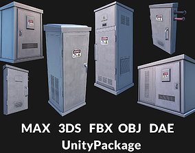 3D asset Utility Boxes Pack