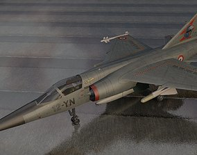 3D model Dassault Mirage F1