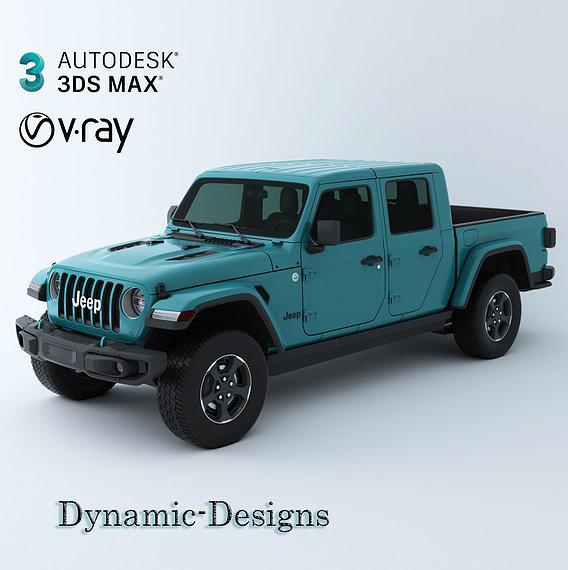 Jeep Truck 01