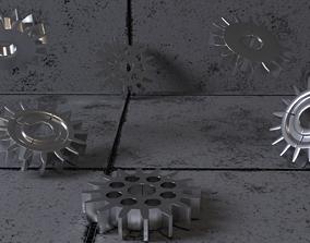 3D model mechanic Gears