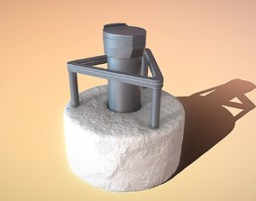 Groundwater Measure Pipe High-Poly Version 3 3D model
