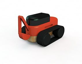 3D printable model excavator