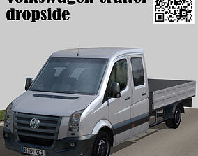 Volkswagen Crafter dropside 3D model