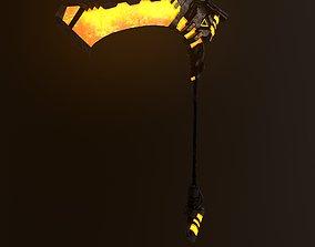 Sci-fi Scythe Raptor 2 3D asset