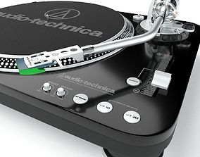 3D model Audio Technica AT-LP1240