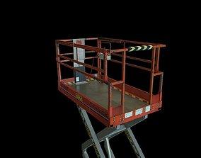3D model Industrial Scissor Lift