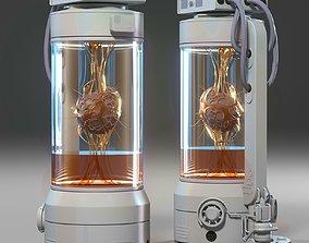 capsule laboratory 3D model