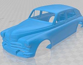 GAZ M20 Printable Body Car