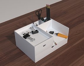3D asset Desktop Organizer