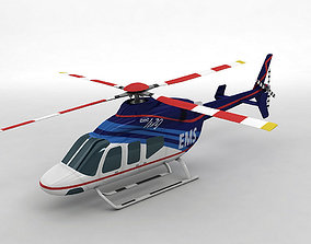 Bell 429 Helicopter 3D asset