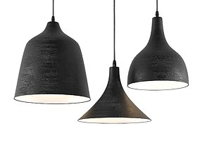 3D model T-Black lamps KARMAN