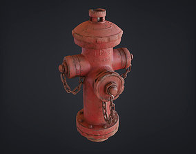 Fire Hydrant - Chinese Style Design 3D asset
