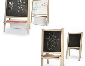 Children Blackboards Mala 3D