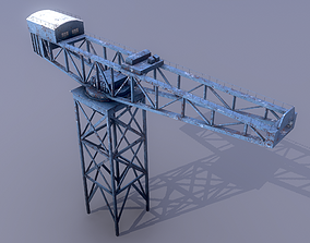 James Watt Dock Crane 3D model