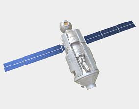 Functional Cargo Block Zarya Module on ISS 3D model