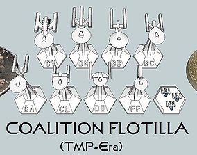 3D print model MicroFleet TMP-Era Coalition Flotilla 1