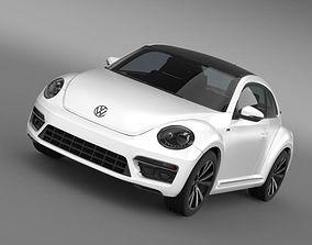 VW Beetle RLine 2014 3D