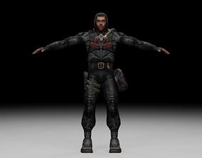 Stalker - Duty Soldier 02 3D asset