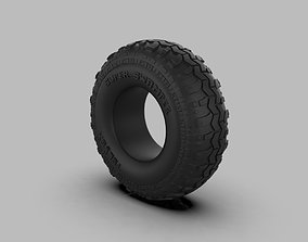 Super Swamper TSL SX Bias tire 3D printable model