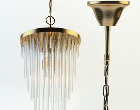 Frederic chandelier 3D model lamp