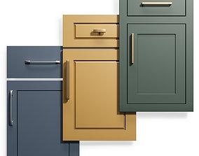 3D Cabinet Doors Set 9