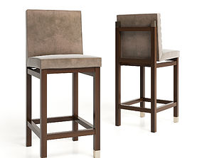 3D model Bar chair COLT by Hudson Furniture
