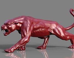 3D Powerful panther