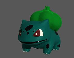 Pokemon bulbasaur miniature 3D print model