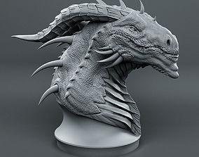 Dragon Head Sketch 3D print model