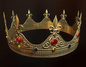 King Crown PBR Ready 3D asset
