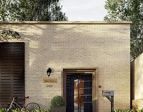 realtime Modern House Exterior 3D Model
