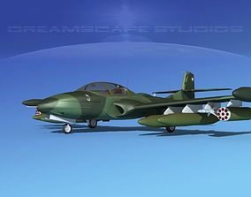 Cessna A-37 Dragonfly V09 Chile 3D model