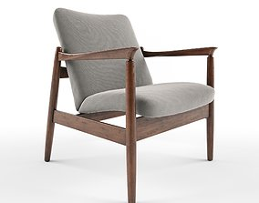 3D Vintage Armchair From Mid Century Designed By Edmund 1