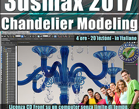 048 3ds max 2017 Chandelier Modeling vol 48 CD front