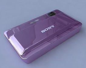 Sony Cyber-shot Digital Camera TX55 3D model