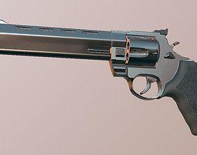 Raging Bull 454 Casull - Game Ready - Revolver 3D model