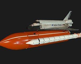 3D model Space Shuttle Atlantis