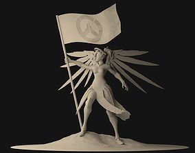 Rigged Mercy 3D