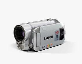 Canon FS400 Silver 3D model
